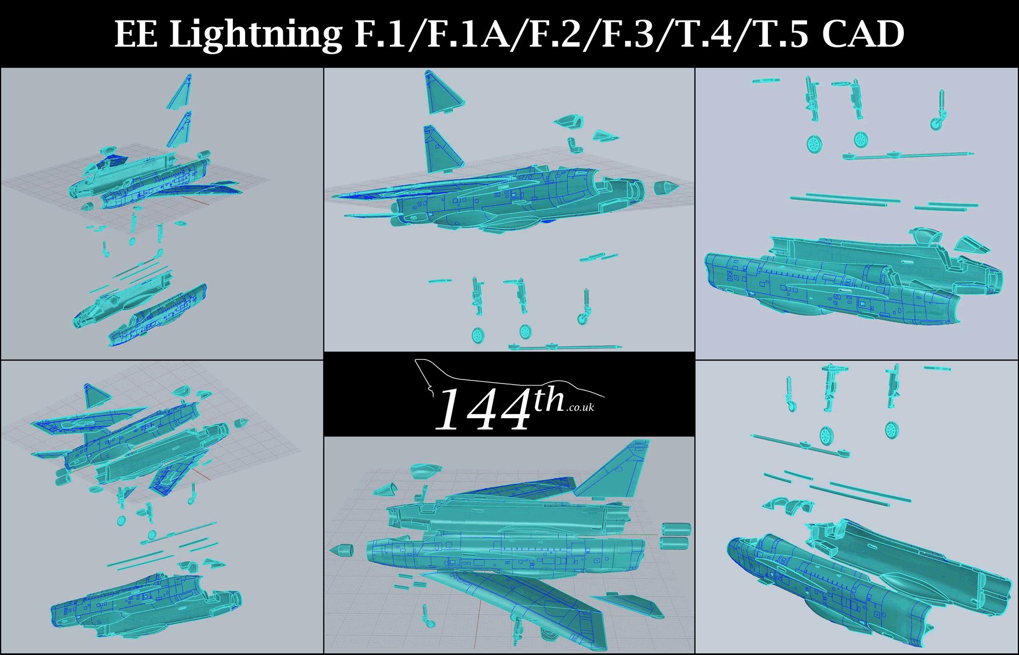 English Electric Lightning F3